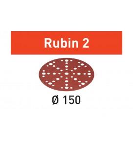 Krążki ścierne Rubin 2 STF D150/48 P60 RU2/50 Festool